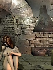 3D chick in dungeon